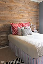 diy panel headboard diy wood fence plank wall tutorial dimples and tangles