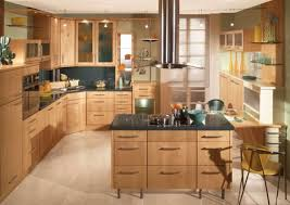 Artistic Kitchen Designs by Furniture Artistic Kitchen Draped In Wooden Tones With A Corner