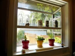indoor gardening kitchen window boxes apartment therapy