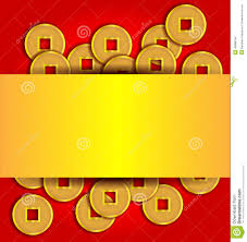 new year gold coins gold coins abstract background for new year stock photo
