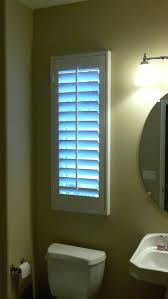 Waterproof Bathroom Window Curtain Window Blinds Blinds Bathroom Window Curtains With Also A Blue