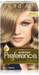 superior preference fade defying color 7a dark ash blonde