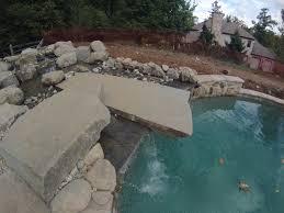 landscaping around pools c e pontz sons landscape contractors