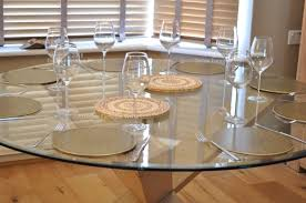 large glass top dining table round glass top dining table oak legs round designs