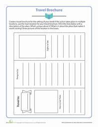 travel brochure comprehension worksheets travel brochure and