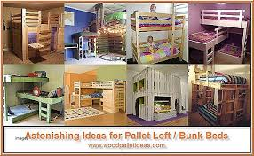 Pallet Bunk Beds Bunk Beds Bunk Beds Made Out Of Pallets Beautiful Astonishing