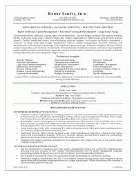 Senior Management Resume Templates 12 Executive Resume Samples Recentresumes Com