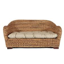 indoor rattan sofa buy two seater rattan sofa