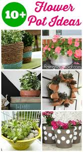 Flower Planter Ideas by 10 Creative Flower Pot Ideas Anyone Can Do