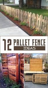 25 unique pallet fencing ideas on pinterest wood pallet fence