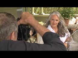 chicos models hair boomer model cindy joseph is gray the the new blonde youtube