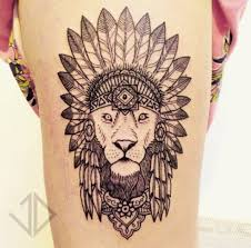 lion indian tribe tattoo tattoo ideas pinterest