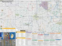 map ok panhandle mad maps usrt070 scenic road trips map of kansas oklahoma