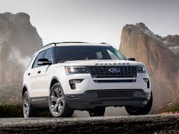 ford explorer package 2018 ford explorer adds safety package 4g hotspot