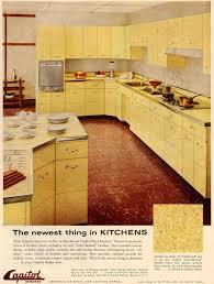 mahogany wood light grey prestige door retro metal kitchen
