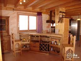 cuisine chalet montagne location chalet dans un hameau à châtel iha 21503