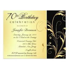 70th birthday invitations templates free 28 images 15 70th