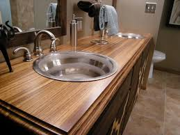 Bathroom Counter Ideas Bathroom Countertop Material Options Hgtv Inside Counter Tops