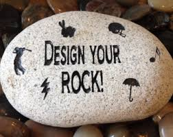 engraved stones engraved stones etsy