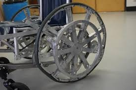 Go Down Stairs by Reinventing The Wheelchair Making The First Human Powered Stair