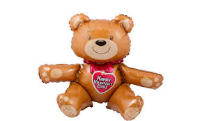 teddy bears inside balloons s day balloons heart balloon bouquets party city