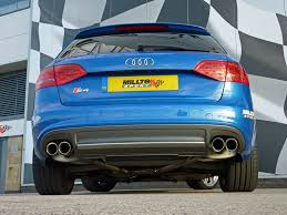 audi s4 v6 supercharged s4 3 0 v6 supercharged with milltek exhaust