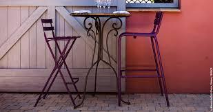 design gartenst hle beautiful table haute de jardin fermob contemporary amazing
