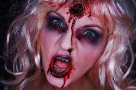 zombie barbie halloween make up youtube