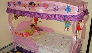 Dora Beds Ideas Minnie Mouse Toddler Bed With Canopy Modern Wall Sconces