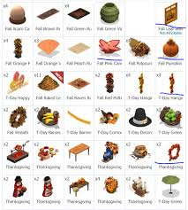 yoworld forums view topic fs fall and thanksgiving items