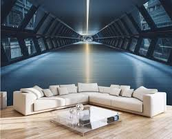 3d Wallpaper For Living Room by Online Get Cheap 3d Tunnel Wallpaper Aliexpress Com Alibaba Group
