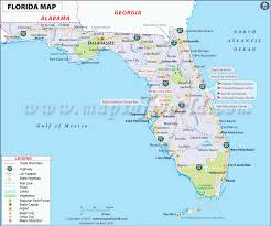 Florida Turnpike Map Florida Map Map Of Usa Detailed Fl And Fla Roundtripticket Me