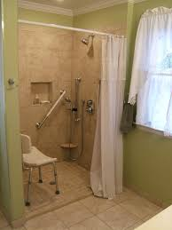 Bathroom Construction Steps Tile Shower Very Small Step To Step Over Walk In Showers Were