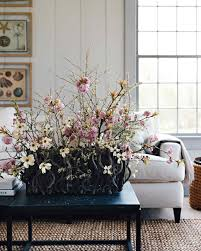 easter home decorating ideas floral arrangement ideas martha stewart