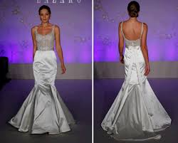 low back wedding dresses strapless lace mermaid wedding dress by liancarlo with low back