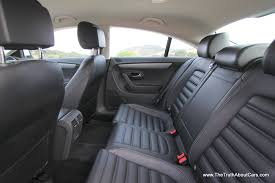 volkswagen phaeton back seat review 2013 volkswagen cc the truth about cars