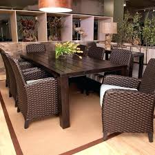 8 seat patio table patio dining tables patio dining table umbrella and sling back chair