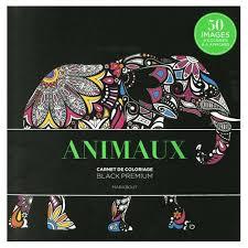 Animaux  Carnet De Coloriage de Marabout Format Beau livre