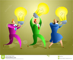 ideas team stock illustration image of success holding 1255731