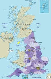 Map Of England And Ireland by Geography Blog Map Of Uk United Kingdom Detailed