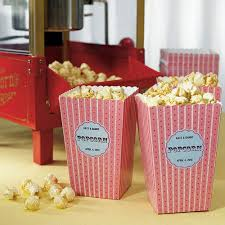 popcorn wedding favors novelty popcorn boxes the knot shop