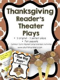 reader s theater plays thanksgiving 2 parts 2 plays theatre