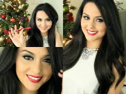 christmas party makeup hair youtube
