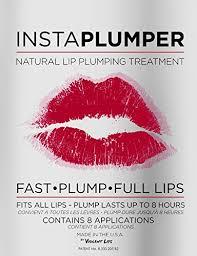 lips tattoo amazon instaplumper intense natural lip plumping treatment for more