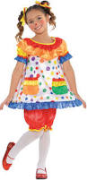 girls halloween costumes party city create your own girls u0027 clown costume accessories party city