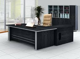 Executive Desks Office Furniture Black Executive Desk Contemporary Black Executive Desk Black