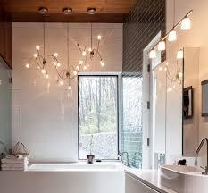 lime green bathrooms bathroom contemporary with chandelier in bath