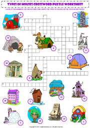Types Of Houses Pictures Types Of Houses Esl Printable Worksheets And Exercises