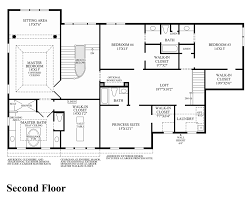 Georgian Floor Plan by Reserve At Northampton The Malvern Home Design