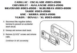2004 chevrolet silverado radio wiring get free silverado stereo